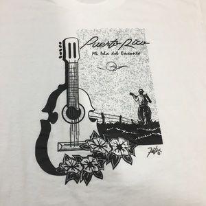 VTG Puerto Rico Single stitch shirt size L